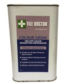Tile Doctor Colour Grow Stone Sealer for Travertine